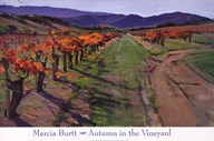 AUTUMN IN THE VINEYARD Art