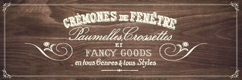 Framed fancy Goods - brown Print