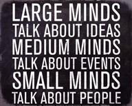 Large Minds - Mini  Fine Art Print