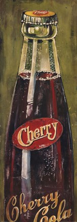Framed Cherry Cola Print