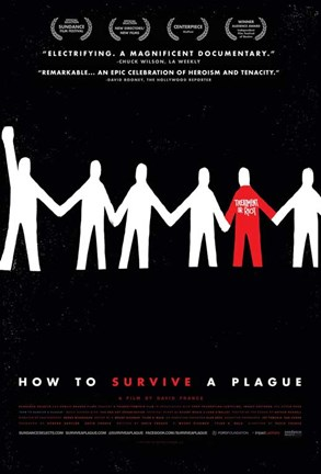 Framed How to Survive a Plague Print