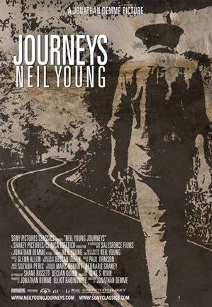 Framed Neil Young Journeys Print