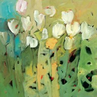White Tulips II  Fine Art Print