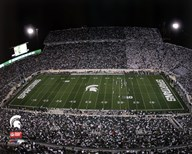 Spartan Stadium Michigan State University Spartans 2012  Fine Art Print