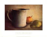 PEARS AND PITCHER  Fine Art Print