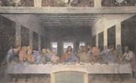 The Last Supper, 1498 (post-restoration)  Fine Art Print