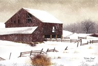 Winter Storm  Fine Art Print