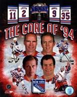 New York Rangers Core Of 1994 Composite  Fine Art Print