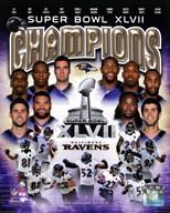 Baltimore Ravens Super Bowl XLVII Champions Composite  Fine Art Print
