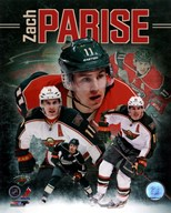 Zach Parise 2013 Portrait Plus Art
