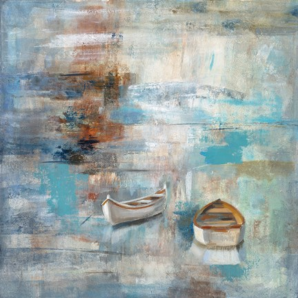 Calm Sea Fine Art Print By Silvia Vassileva At