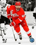 Henrik Zetterberg 2012-13 Spotlight Action Art