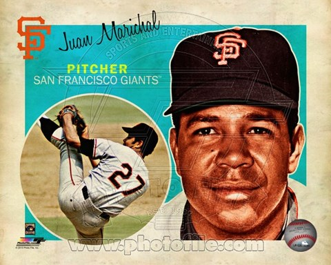 Framed Juan Marichal 2013 Studio Plus Print