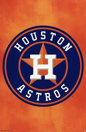 Framed Houston Astros - Logo 13 Print