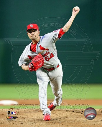 Framed Jaime Garcia 2013 Action Print