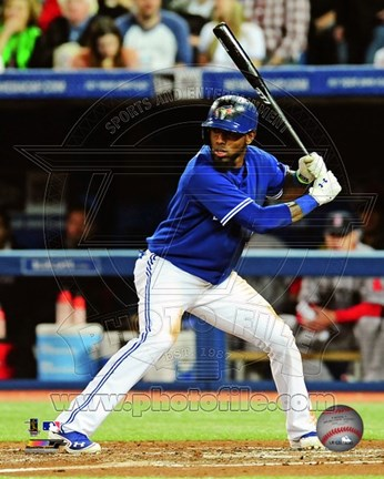 Framed Jose Reyes 2013 Action Print