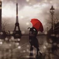 Paris Romance  Fine Art Print
