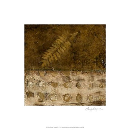 Framed Earthen Textures IX Print