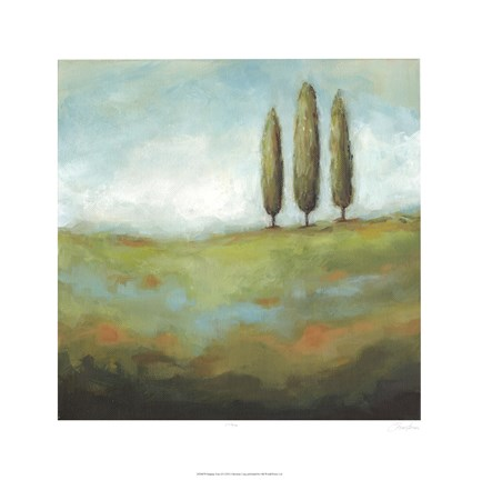 Framed Singing Trees II Print