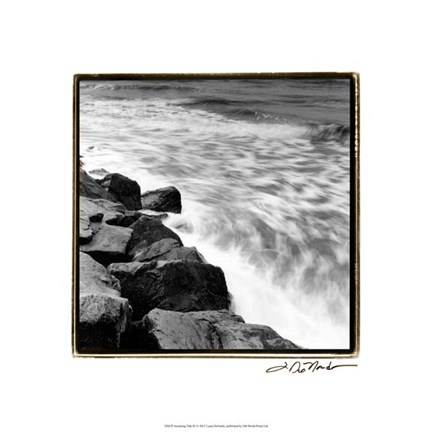 Framed Incoming Tide III Print