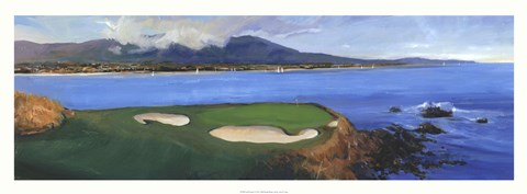 Framed Golf Scene II Print