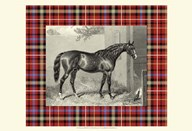 Equestrian Plaid III Art