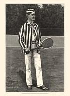 Harper's Weekly Tennis I  Fine Art Print
