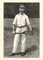 Harper's Weekly Tennis II  Fine Art Print