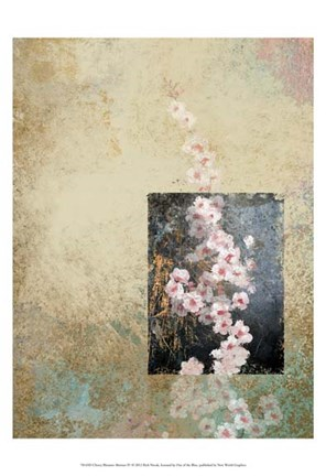 Framed Cherry Blossom Abstract IV Print