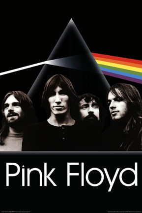 Framed Pink Floyd - Dark Side - Group Print