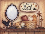 Hot Baths  Fine Art Print