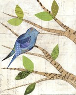 Birds in Spring I  Fine Art Print