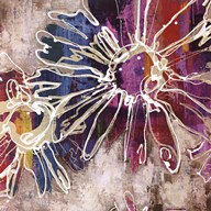 Floral Kick I  Fine Art Print