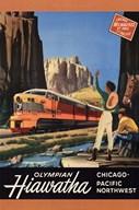 Hiawatha 1952  Fine Art Print