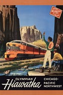 Hiawatha 1952 Art