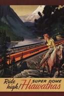 Hiawatha 1956  Fine Art Print