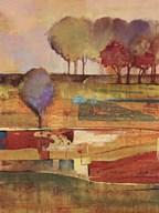 Bright Landscape I  Fine Art Print