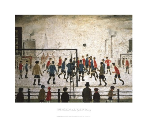 Framed Football Match Print