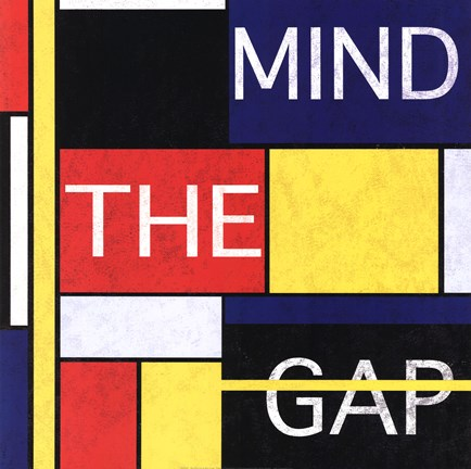 Framed Mind The Gap Print