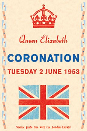 Framed Coronation Day, 1953 Print