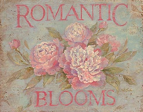 Framed Romantic Blooms Print