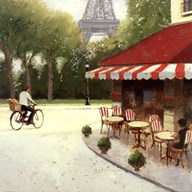 Cafe du Matin III Art