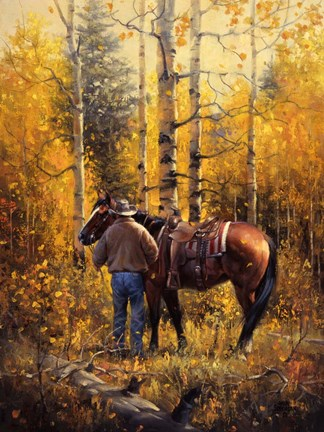 Sangre De Cristo Gold Fine Art Print By Jack Sorenson At