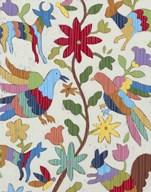 Otomi Embroidery I  Fine Art Print