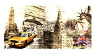 Downtown New York  Fine Art Print