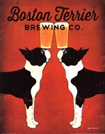 Boston Terrier Brewing Co. Art
