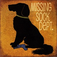 Missing Sock Department Art