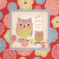 Owl 2 Frame Art