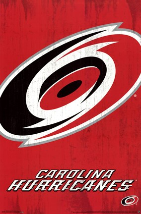 Framed Carolina Hurricanes® - Logo 13 Print