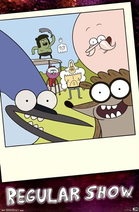 Framed Regular Show - Snapshot Print